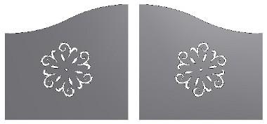 Pannelli per cancelli carrabili